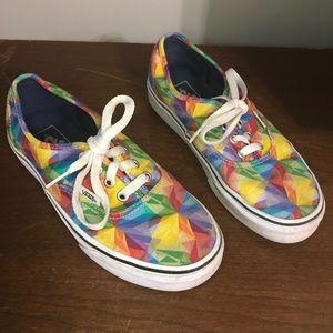 Vans Rainbow Prism Kaleidoscope Shoes